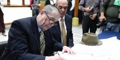 Pablo Duarte y Roberto Villeda, binomio presidencial del partido Unionista