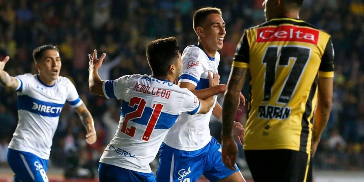 La UC tuvo la brillantez de Puch y los goles de Valencia para superar a un duro Coquimbo en su debut