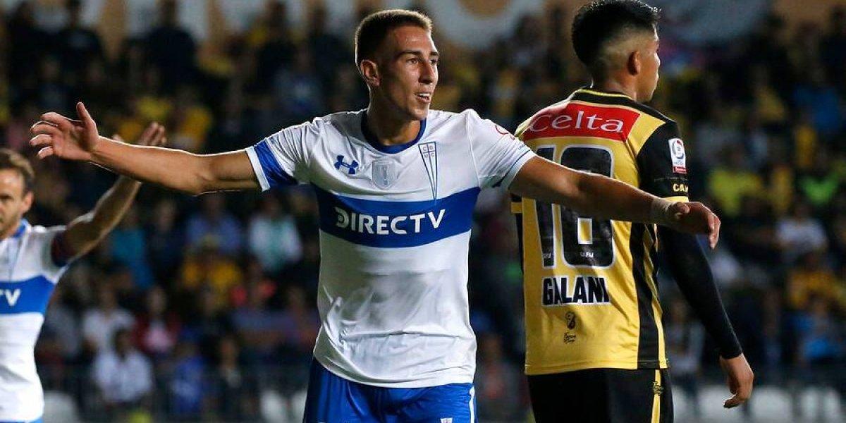 """Diego Valencia, la apuesta de Quinteros que pide paso como el """"9"""" de la UC"""