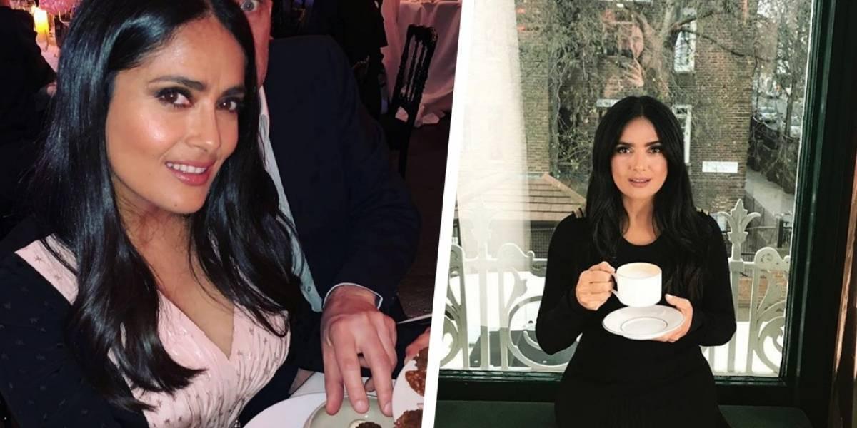 Salma Hayek calla los rumores de un divorcio de la forma más elegante posible