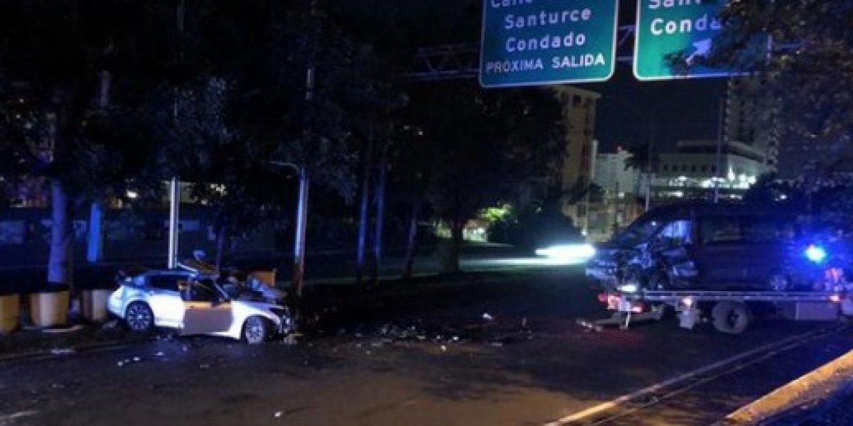 Varios heridos tras accidente grave en la Baldorioty