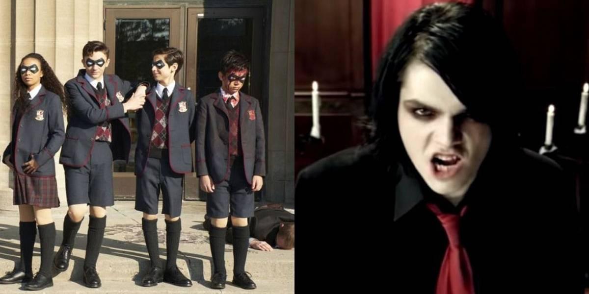O que The Umbrella Academy tem em comum com a banda My Chemical Romance?
