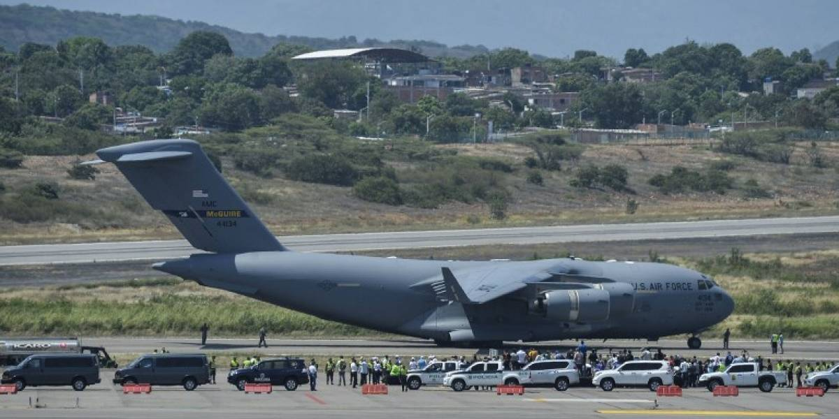 Llegan nuevas toneladas de ayuda de EE. UU. a frontera de Colombia con Venezuela