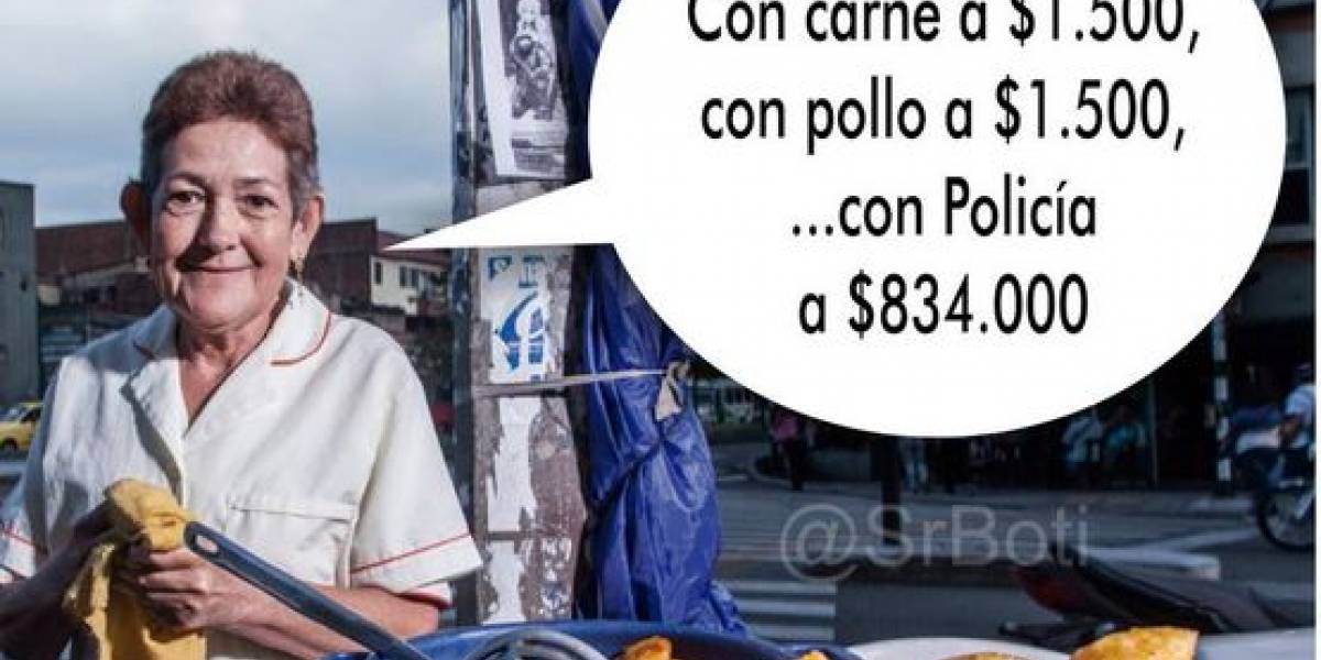 Los memes que dejó la empanada más cara de Bogotá