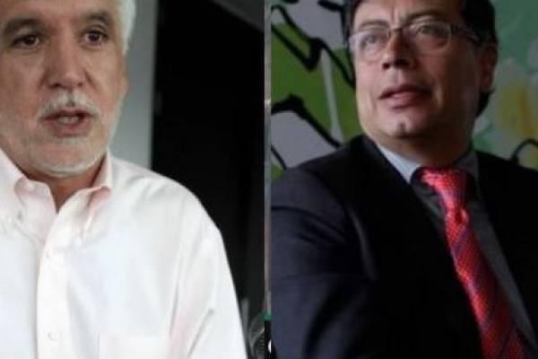 Peñalosa y Petro