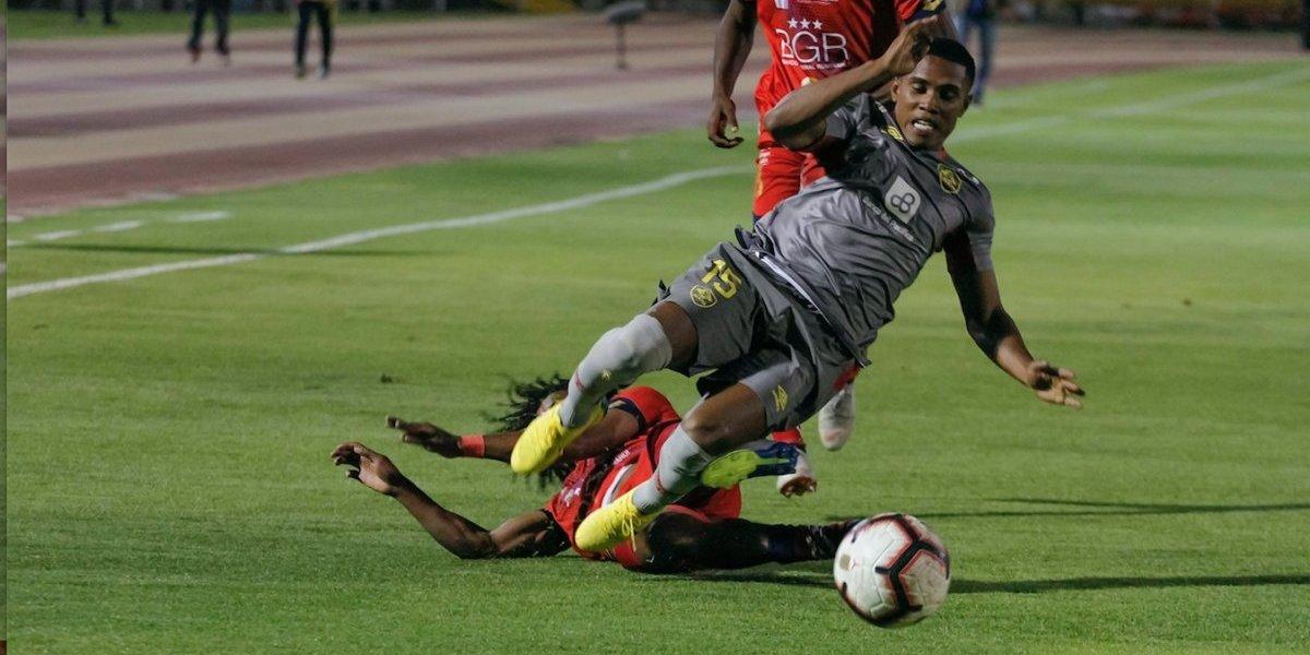 Liga pro Ecuador: 'Los Orientales' ganan a El Nacional