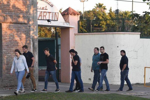 El club San Martín de Progreso fue elegido como sede del velorio / imagen: Getty Images