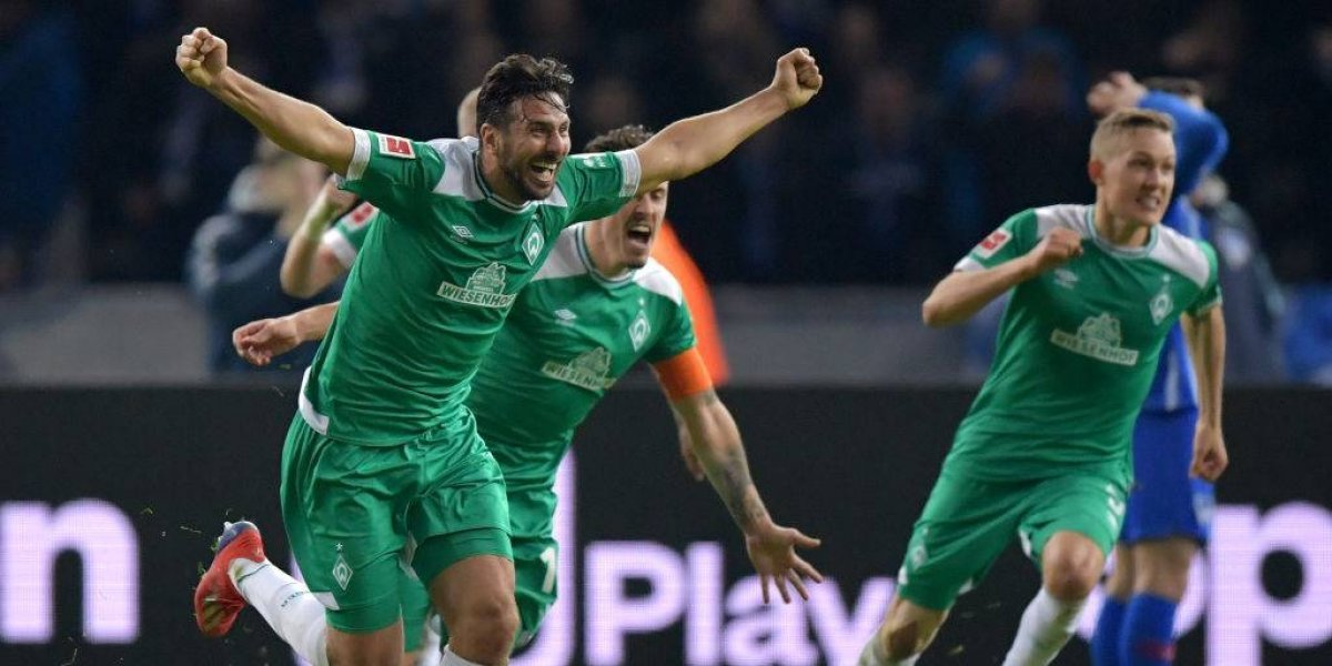 El peruano Claudio Pizarro sigue incrementando su leyenda en Alemania