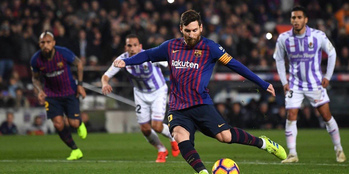 Minuto a minuto: Barcelona vence a Valladolid con un gol de penal de Lionel Messi
