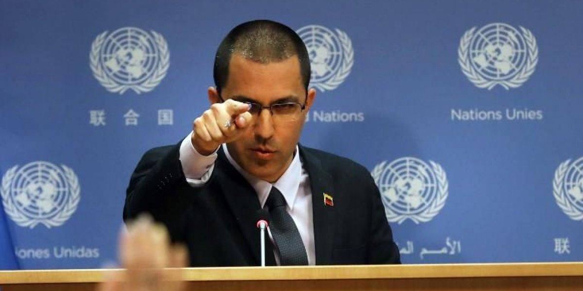 Canciller de Venezuela confirma citas secretas con delegado de Trump