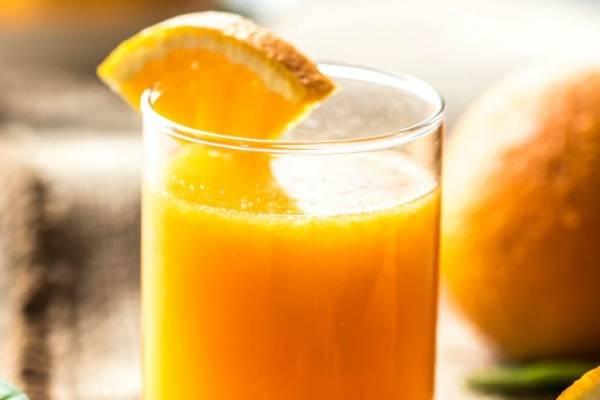 jugos con naranja para bajar de peso