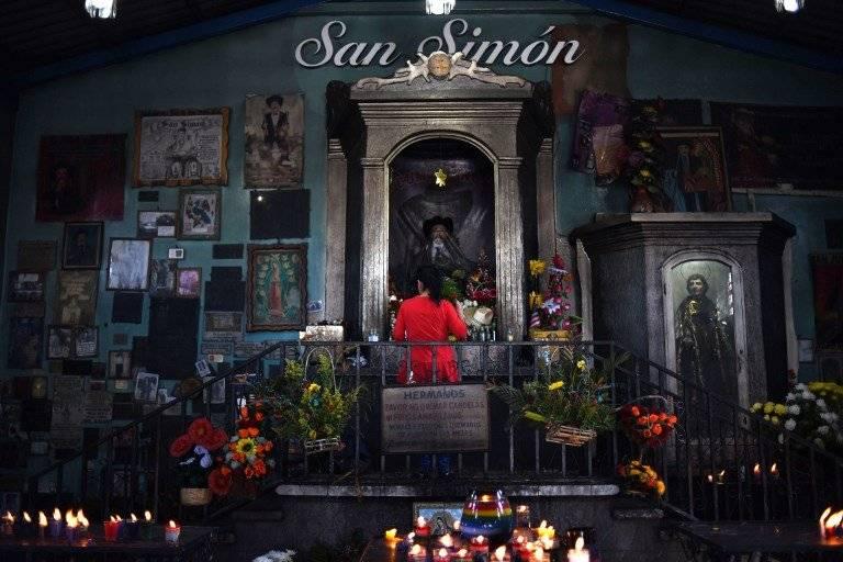 San Simón en San Andrés Itzapa