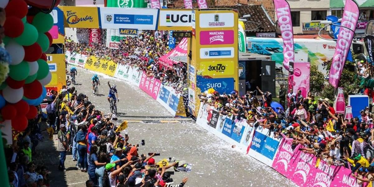 Bob Jungles ganó la cuarta etapa del Tour Colombia 2.1