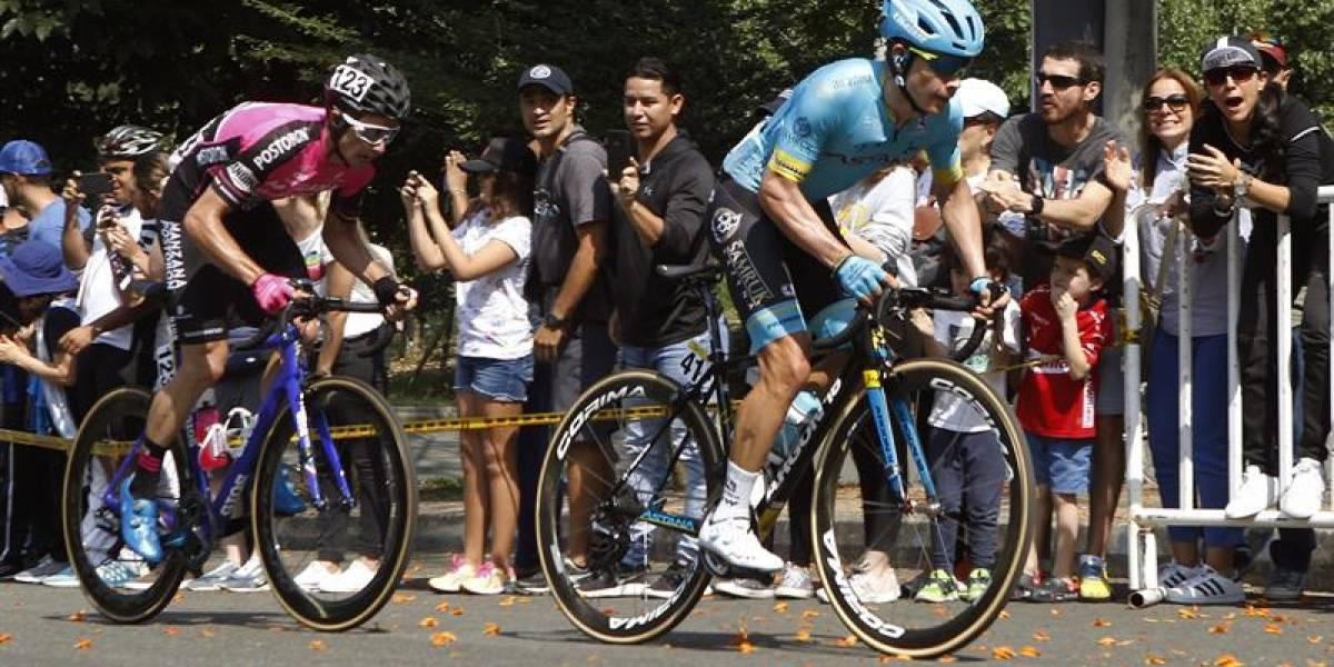 'Supermán' le cede a Nairo el ascenso a Las Palmas y se lleva la general del Tour Colombia 2.1