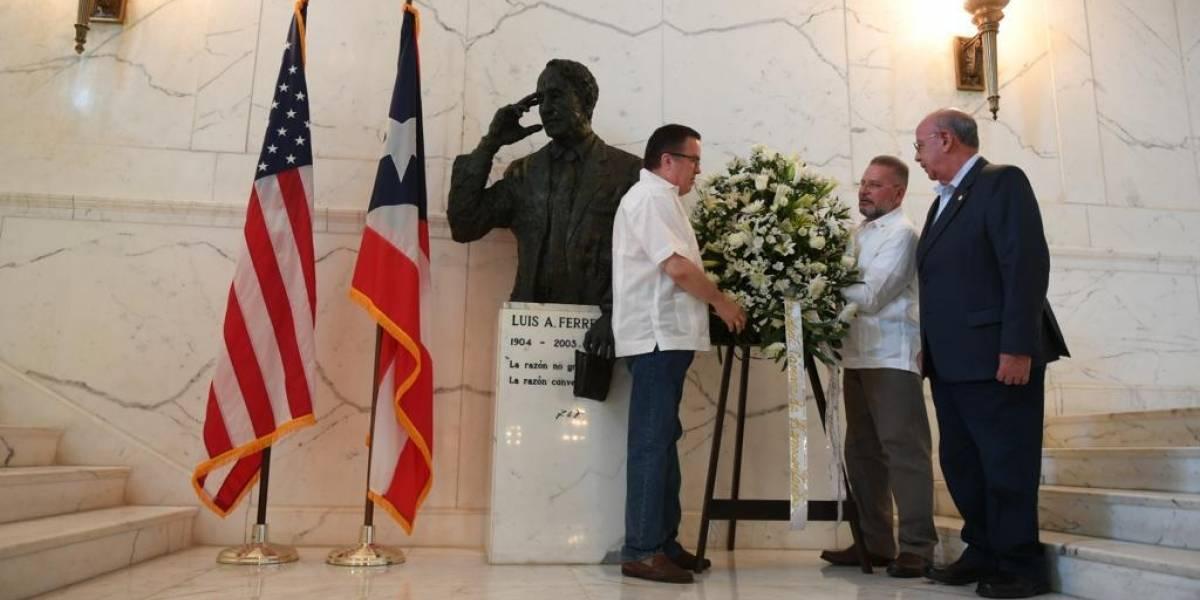 Estadistas conmemoran natalicio de Don Luis A. Ferré