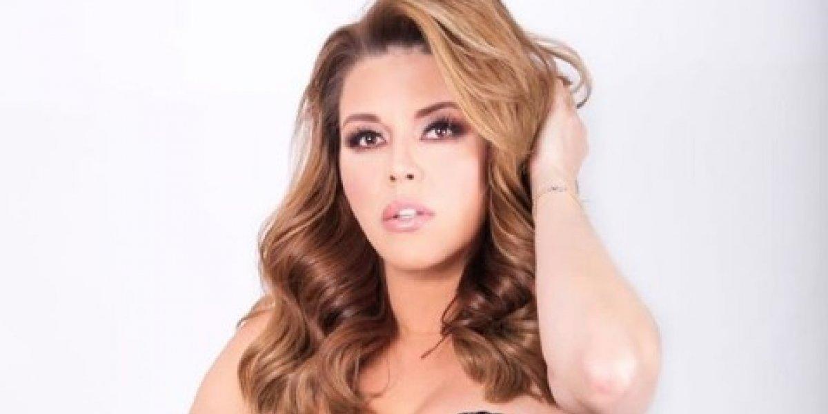 VIDEO. Alicia Machado se resbala y sufre vergonzosa caída en pleno programa en vivo