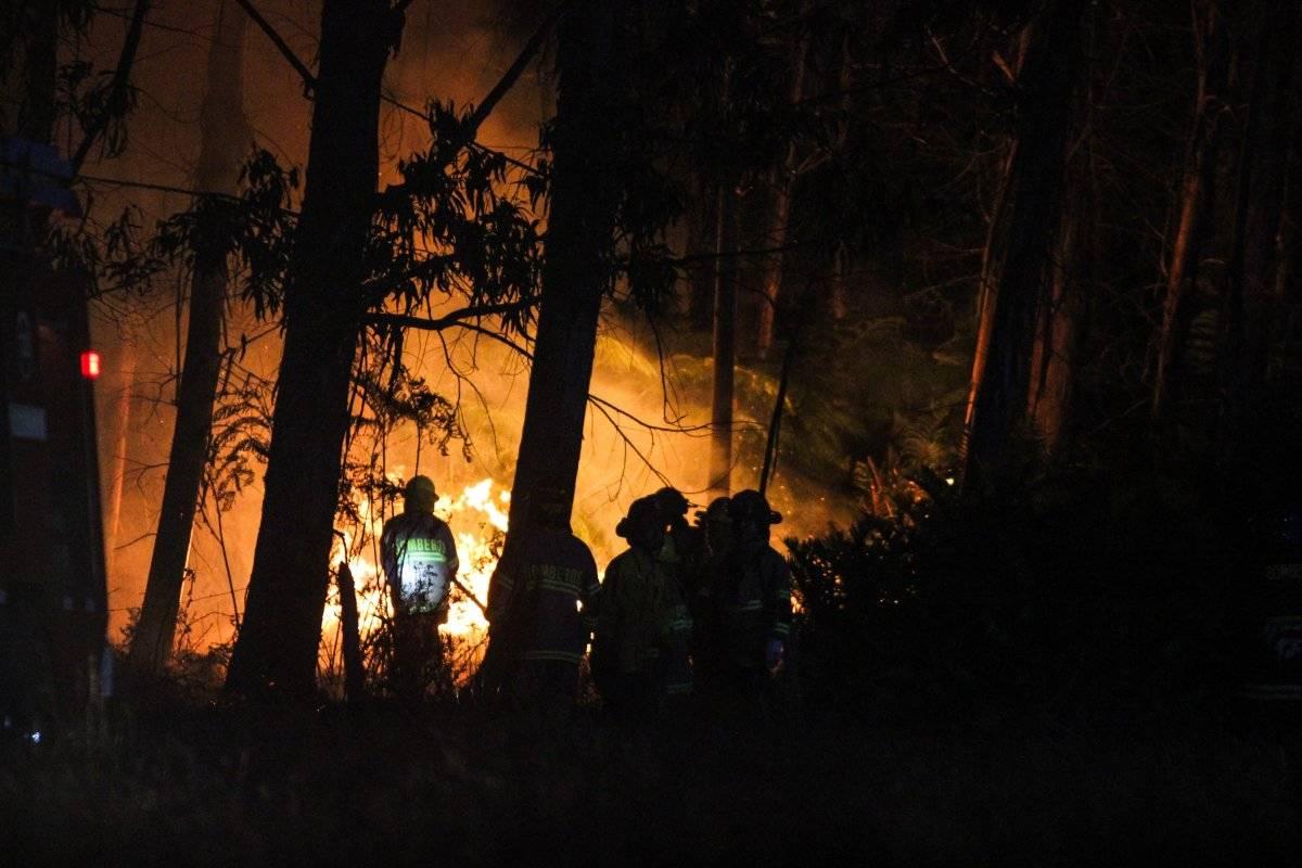 incendio Ancud