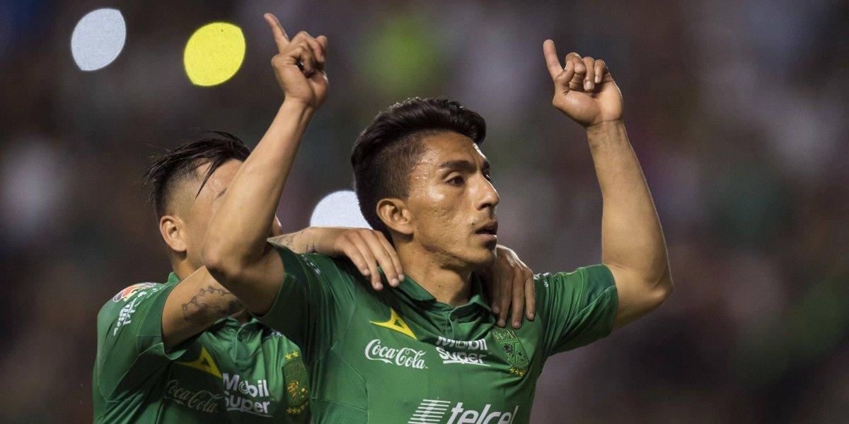 Dupla Mena-Macías mantiene inercia ganadora del León ante Toluca
