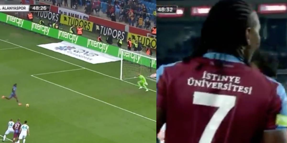 ¡Ay, Hugo! Insólito blooper de Rodallega con Trabzonspor da la vuelta al mundo