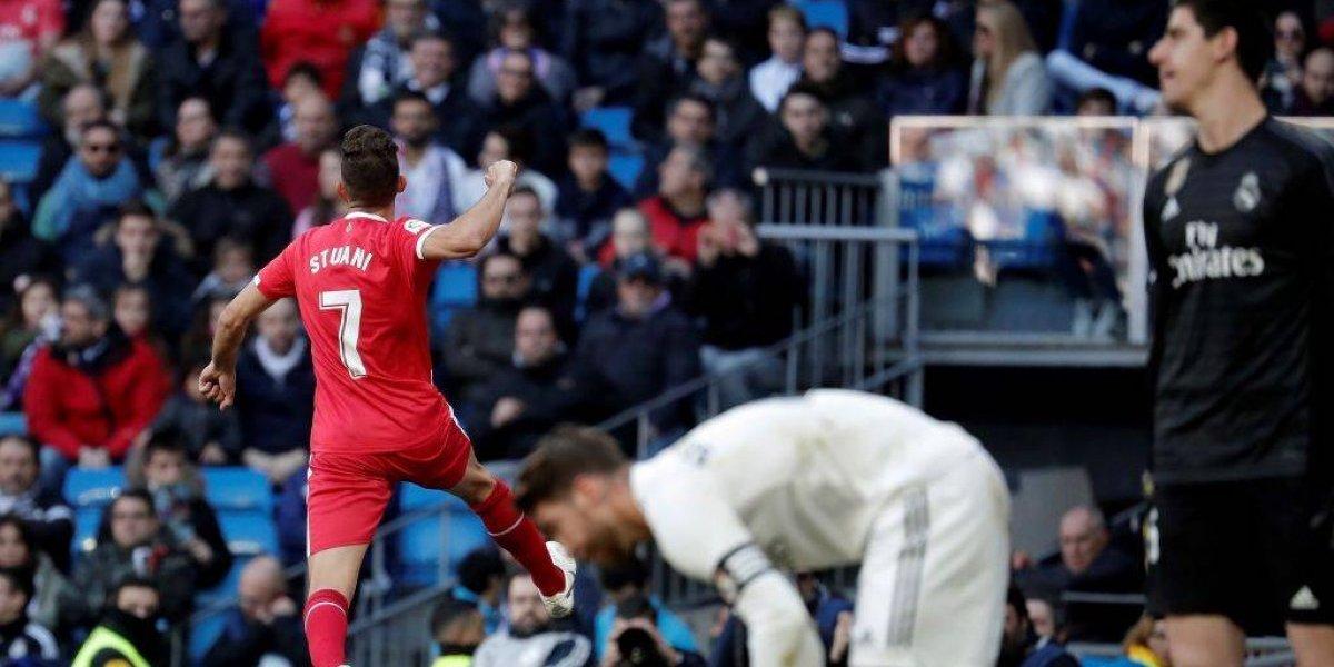 El Girona dio la gran sorpresa en España al vencer al Real Madrid en el Santiago Bernabéu