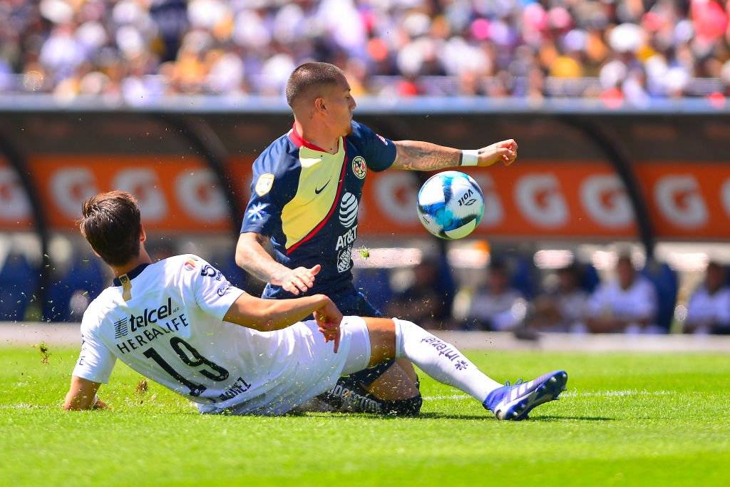 Carlos Alberto González le da la victoria a Pumas ante América