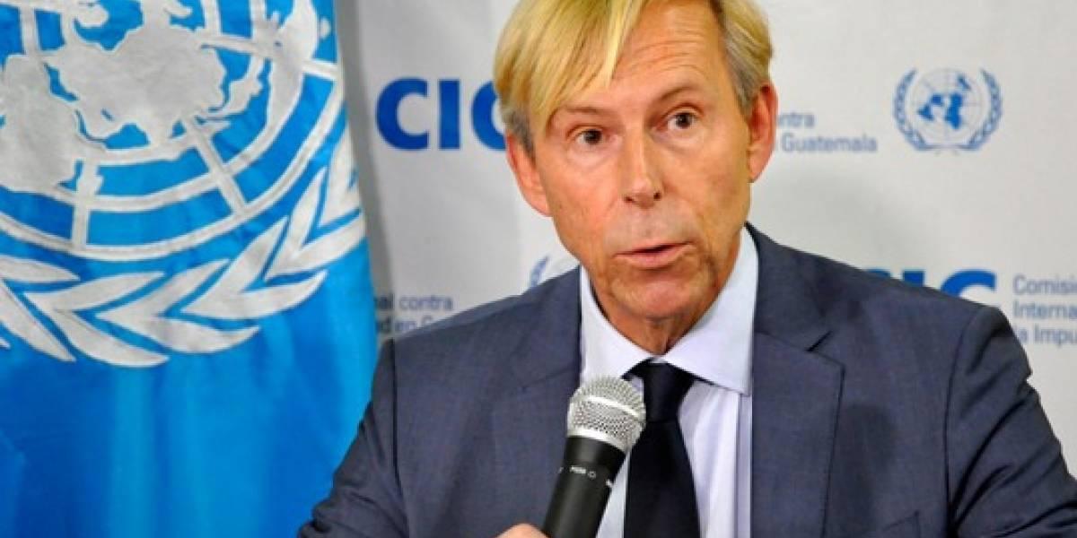 Embajador Kompass informará a Suecia sobre situación política del país