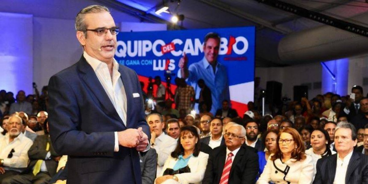 """Luis Abinader: """"Llegué a la política por pasión"""""""