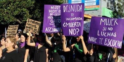 Marcha feminicidios
