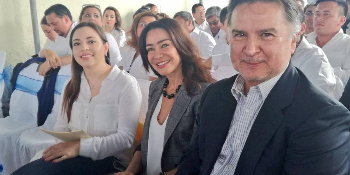 Portillo y su exesposa Evelyn Morataya buscarán ser diputados