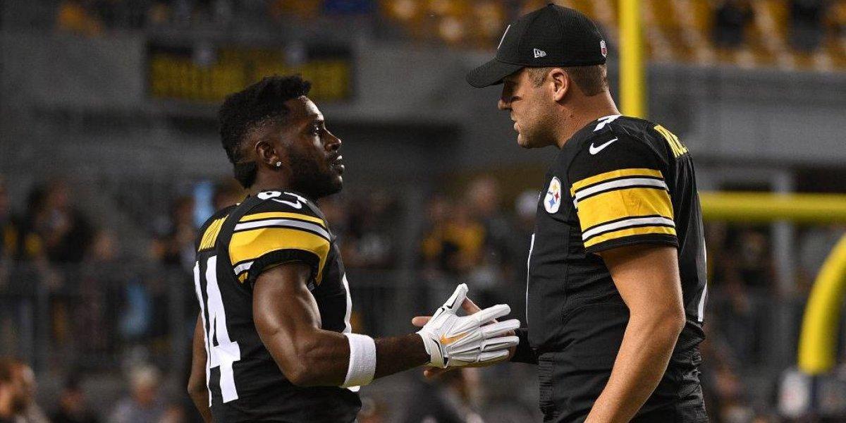 Antonio Brown se despide de Steelers