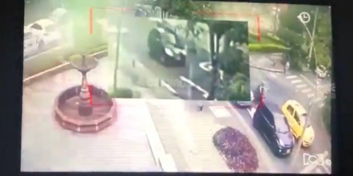 Revelan inédito video del fleteo en el que murió Legarda