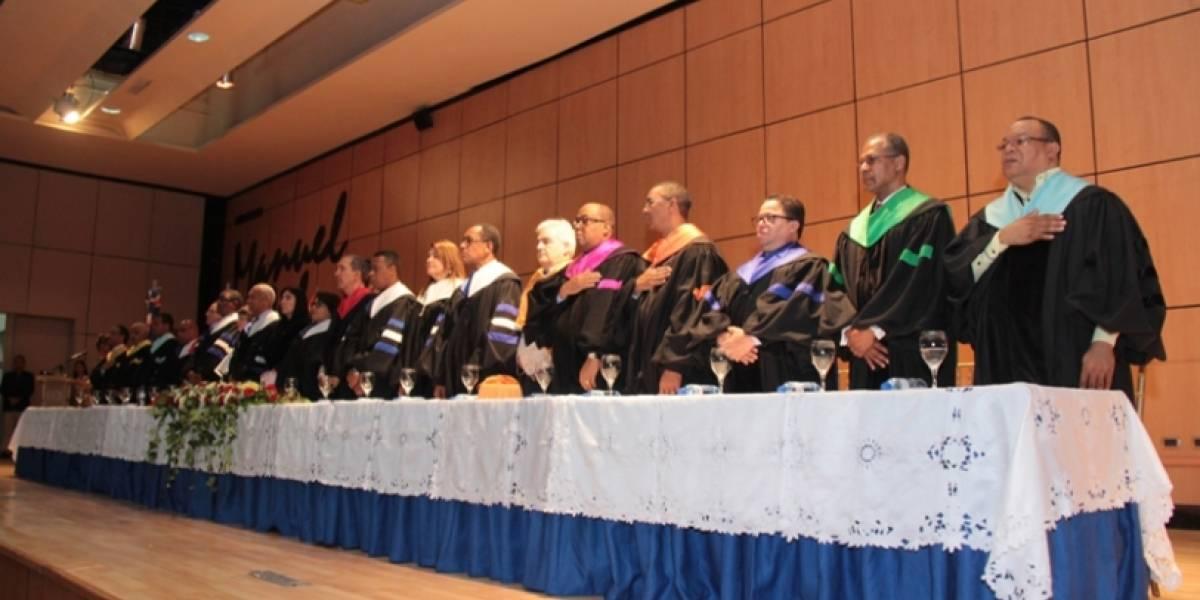 UASD y Universidad del País Vasco invisten doctorados y máster