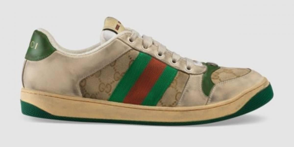 Os sapatos 'sujos' são a nova tendência da Gucci
