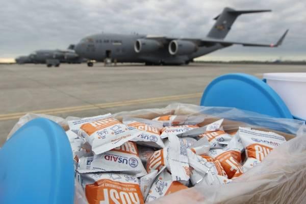 ayuda humanitaria. AP
