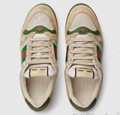 Página web oficial en pies tiros de forma elegante Os sapatos 'sujos' são a nova tendência da Gucci | Metro Jornal