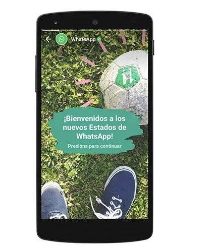 FOTO: WhatsApp cambiará la forma de ver los estados