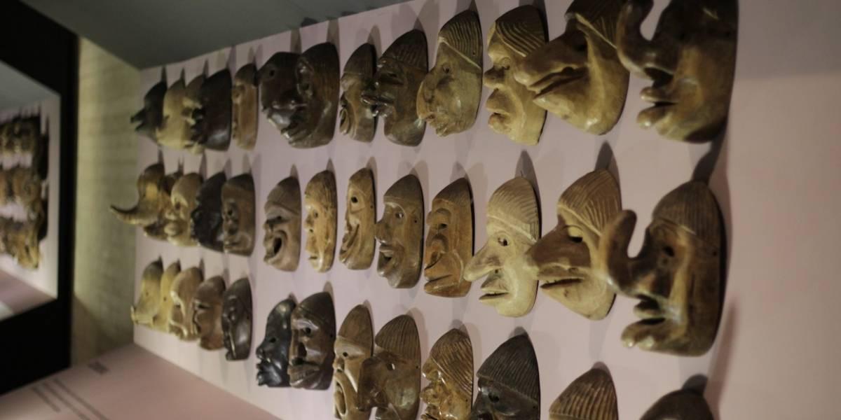 Quedan pocos días para ver esta exposición de máscaras en el Centro Cultural Gabriel García Márquez