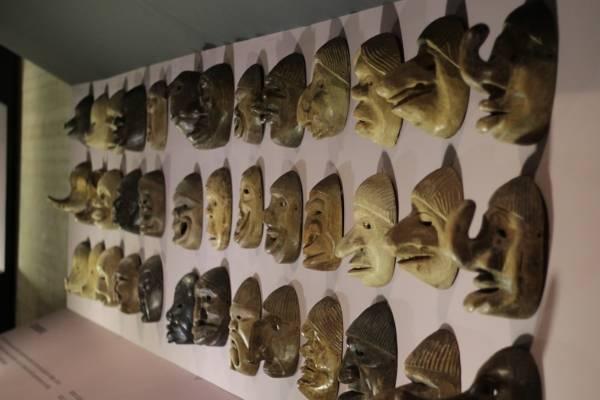 Exposición máscaras