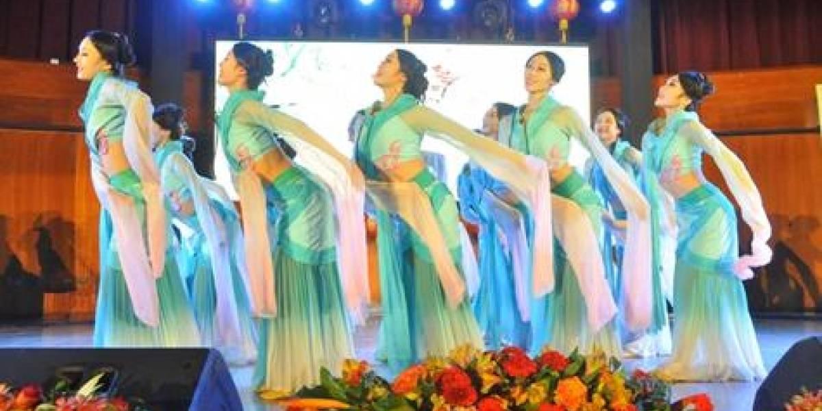 """""""Nuevo año chino del cerdo"""" celebrado con diversas presentaciones artísticas"""
