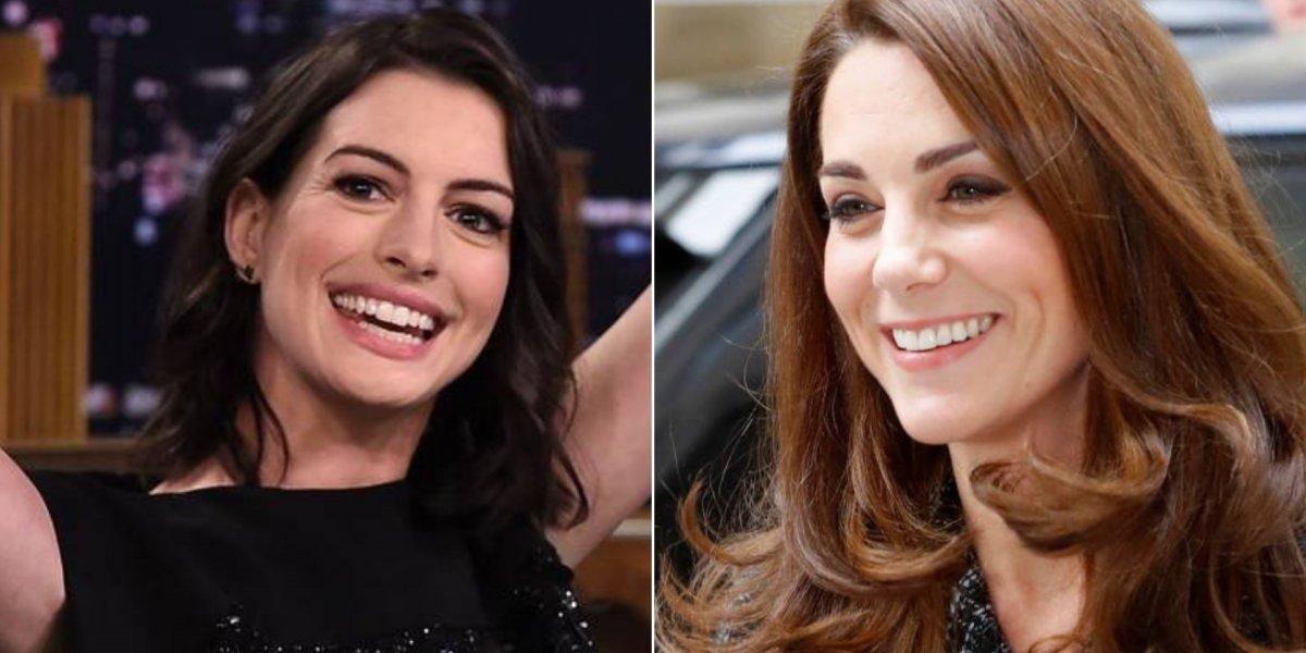 Anne Hathaway revela que segue estratégia de Kate Middleton na criação do filho