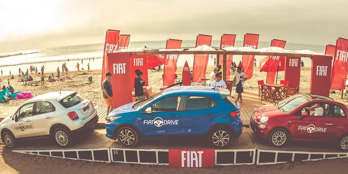 Fiat se toma Maitencillo con sus test drives
