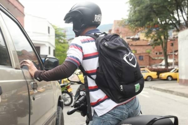 Robo fleteo Medellín
