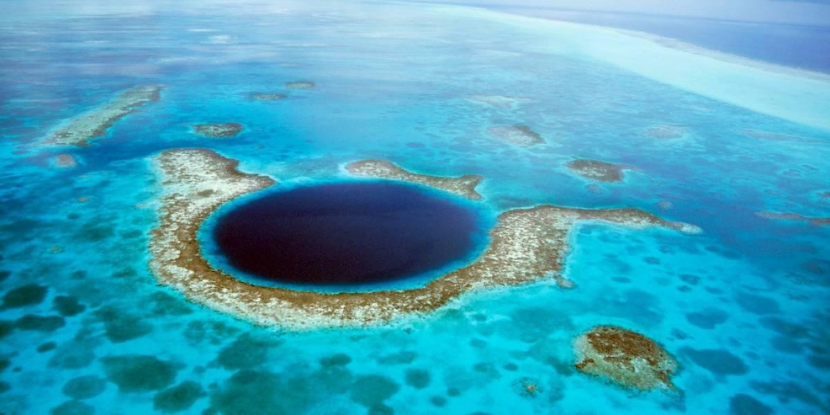 Exploran el Gran Agujero Azul del Caribe