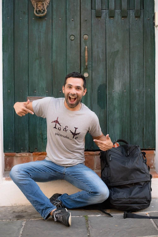 Wilson Santiago, bloguero de viajes.
