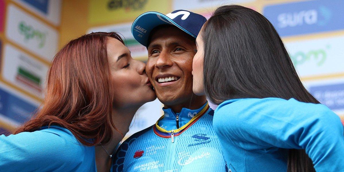 """Nairo Quintana: """"Llegamos en buenas condiciones al Tour"""""""