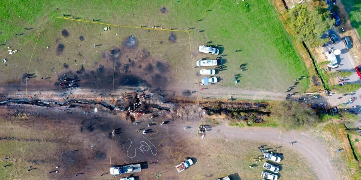 México: A un mes de incendio en oleoducto, suman 130 muertos