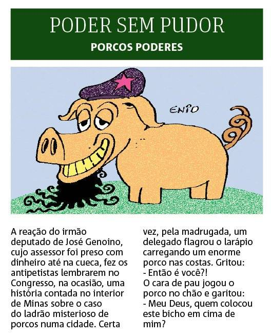 porcos poderes