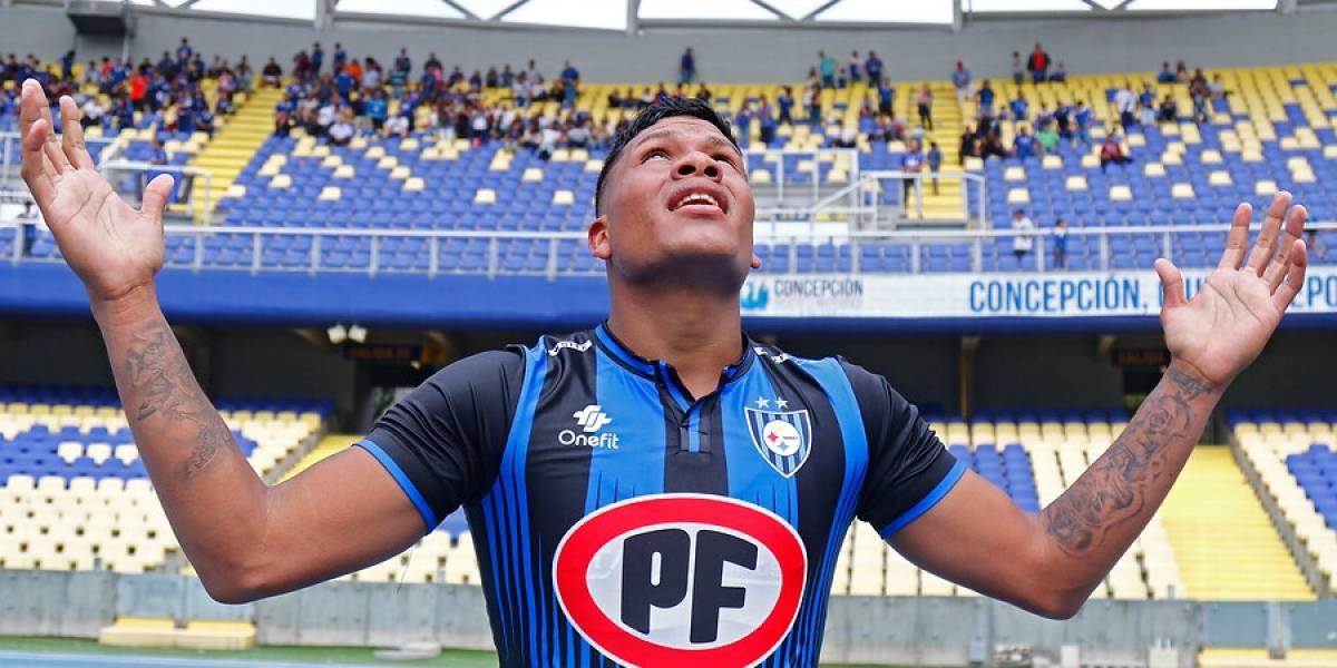 """Anthony Blondell, nuevo goleador llanero de Huachipato: """"Los venezolanos se han ido por la puerta grande y yo vengo con ese mismo reto"""""""