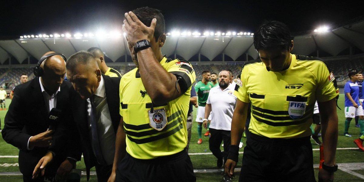 Nicolás Gamboa, el hermano de Eduardo que debutó como árbitro de Primera en el polémico Audax-Antofagasta