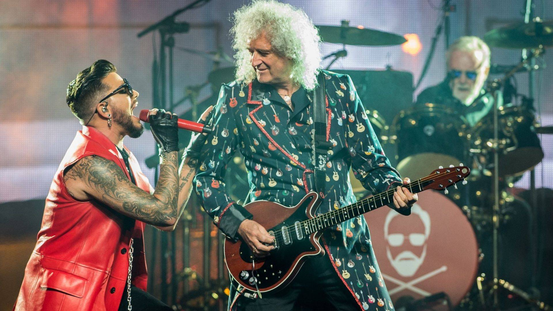 Queen Adam Lambert Brian May Roger Taylor